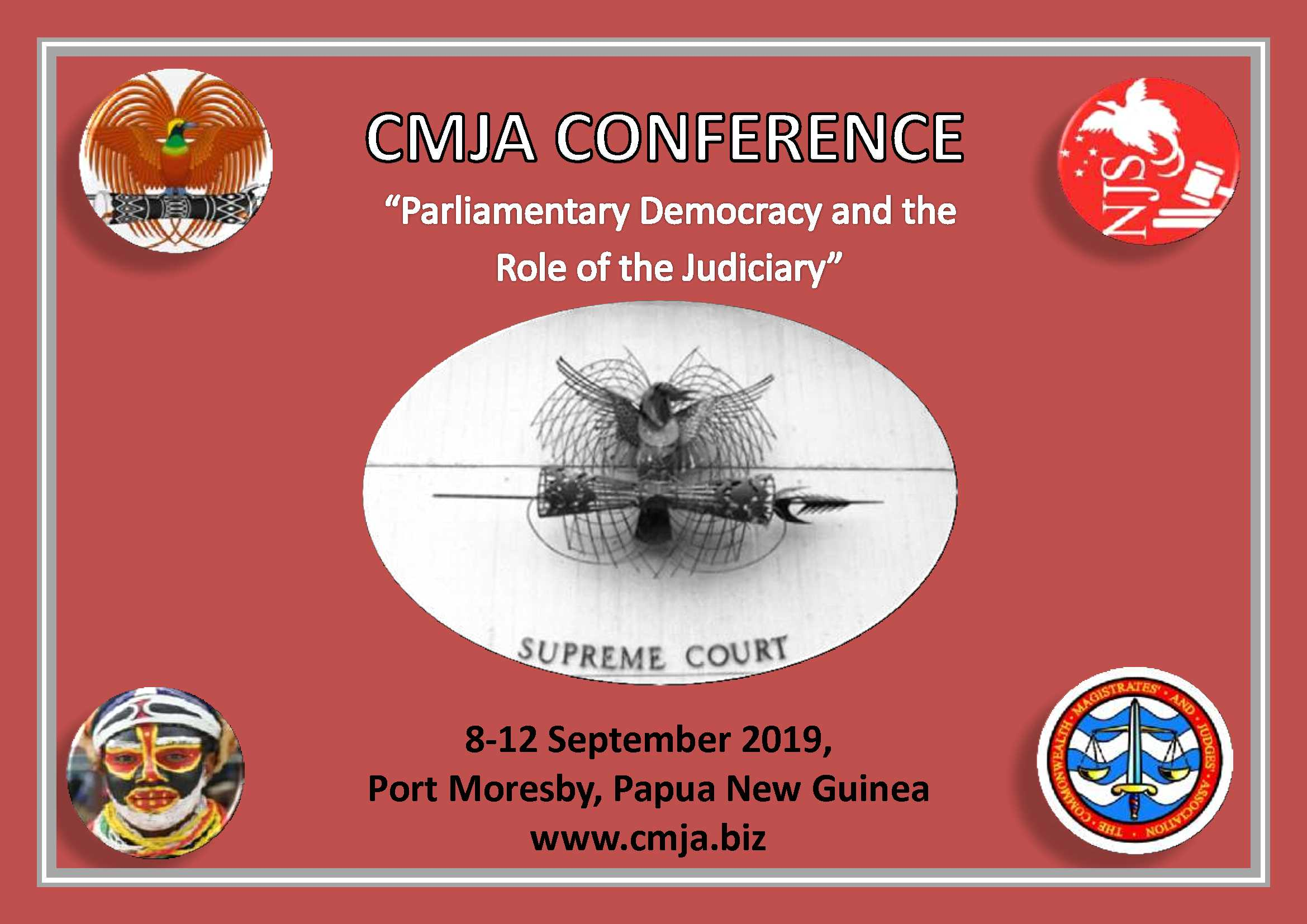 CMJA 2019 Conference | Port Moresby, Papua New Guinea, 8th -12th